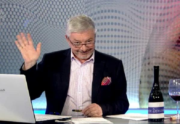 Vladimír Železný se v dubnu 2014 rozloučil s diváky TV Barrandov, zdroj: MediaGuru.cz