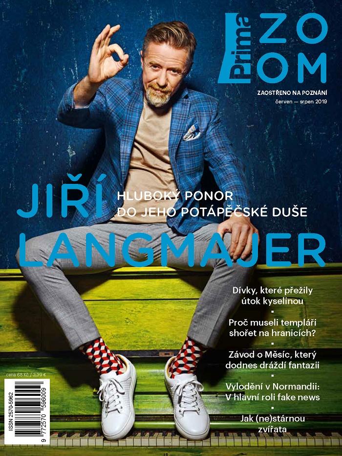 Redesignované květnové číslo časopisu Prima Zoom, zdroj: FTV Prima