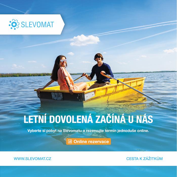 Jeden z klíčových vizuálů letní kampaně Slevomat, zdroj: Slevomat
