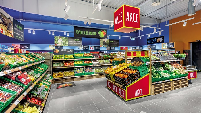 Penny Market nabízí 70 % potravin českého původu a spolupracuje s řadou lokálních dodavatelů. Zdroj: Penny Market