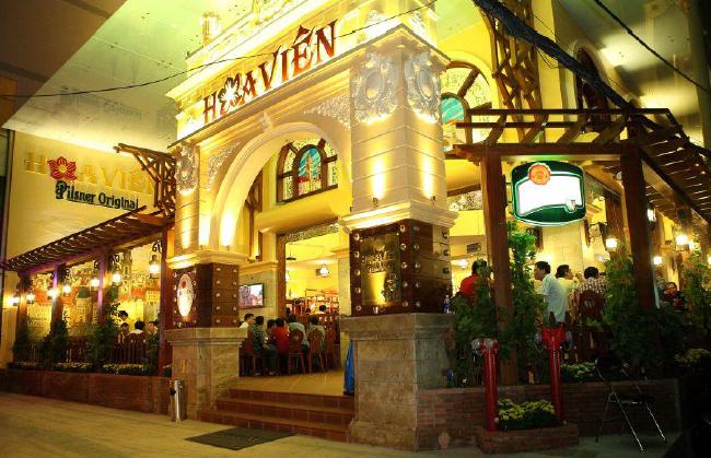 Česká restaurace s minipivovarem Hoa Vien v Ho Či Minově Městě, zdroj: MZe