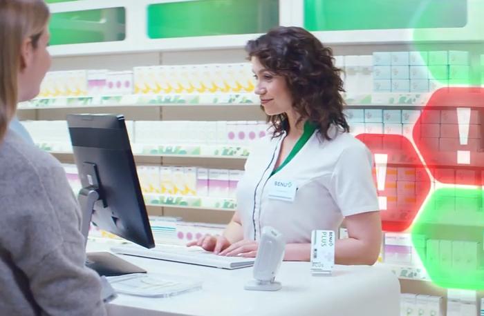 Tváří kampaně se stala lékárnice Ivana Průšová, zdroj: Benu.