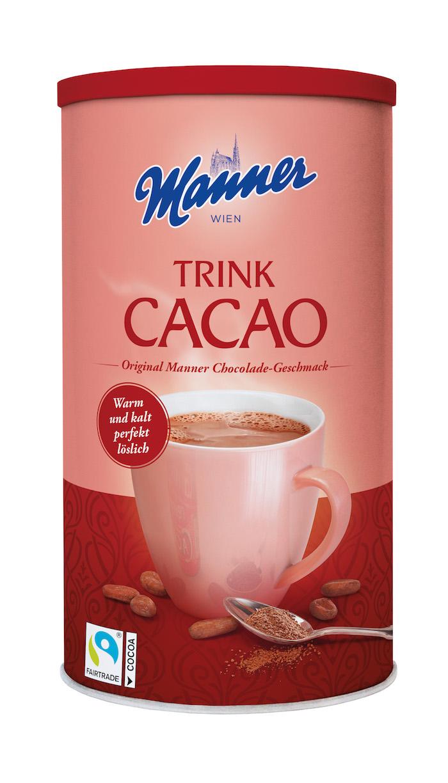 Novinka z portfolia značky Manner – kakaový nápoj, zdroj: Josef Manner