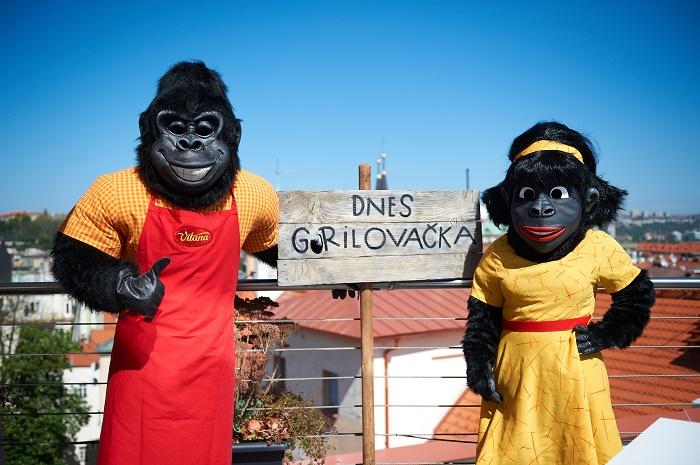Pan Gorila s paní Gorilovou, zdroj: Orkla Foods