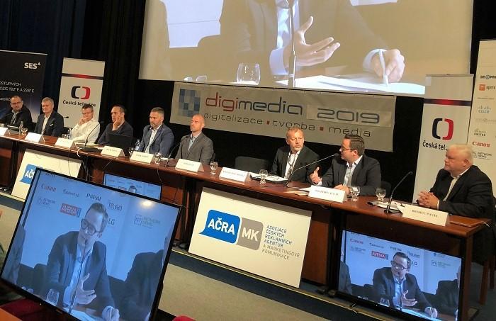 Panelisté na Digimedia 2019, foto: MediaGuru.cz