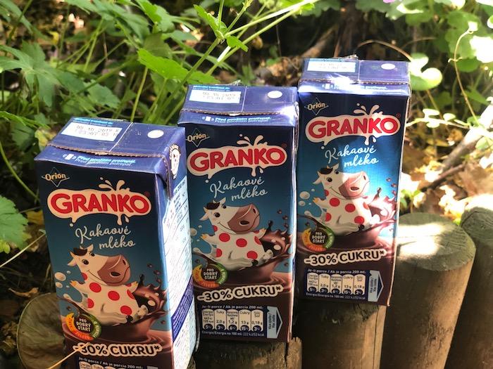 Granko Kakaové mléko, foto: MediaGuru.cz