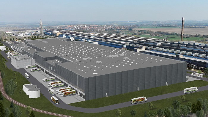 Nové logistické centrum Lidluza 2 miliardy korun bude zásobovat až 90 prodejen. Zdroj: Lidl