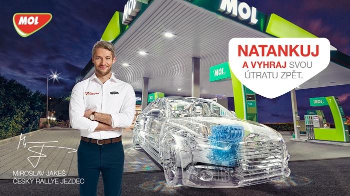 Klíčový vizuál nové kampaně MOL, zdroj: MOL ČR