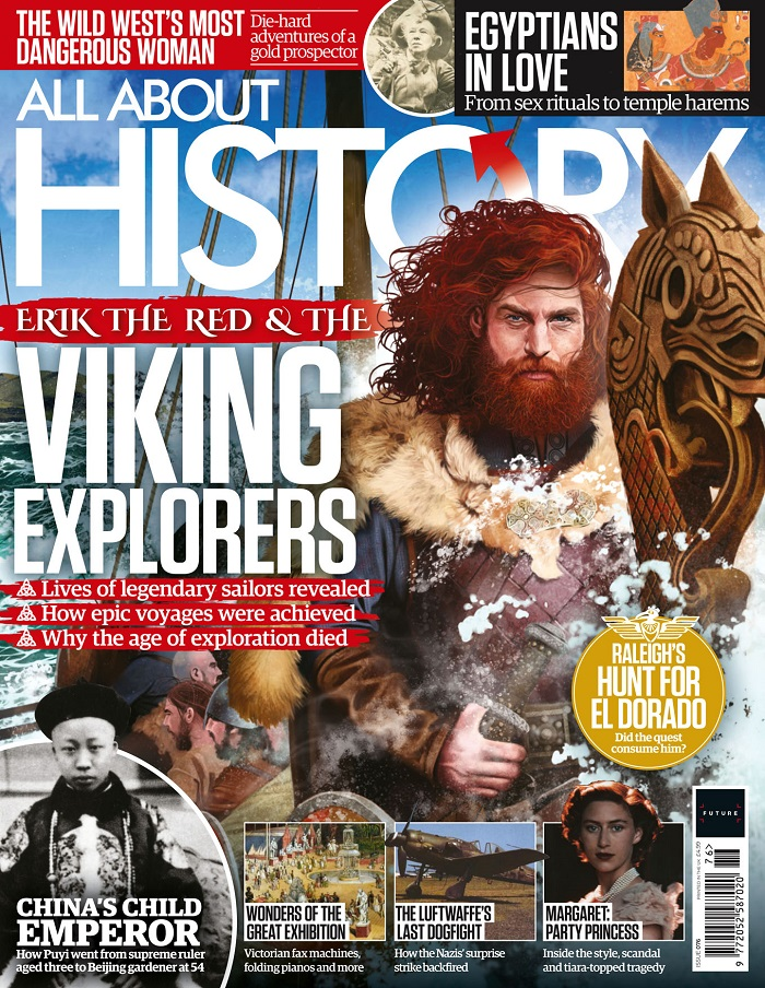 Předloha magazínu Ilustrovaná historie