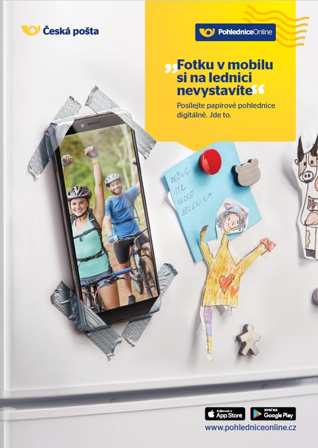 Klíčový vizuál, zdroj: Česká pošta