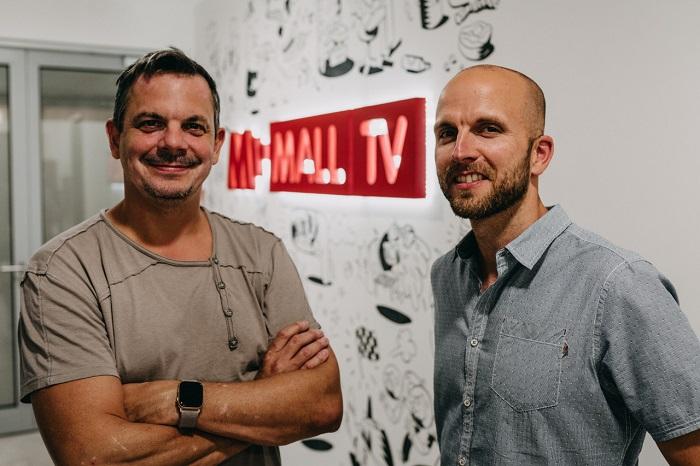 Šéfproducenti Dano Dangl a Lukáš Záhoř, foto: Mall.tv