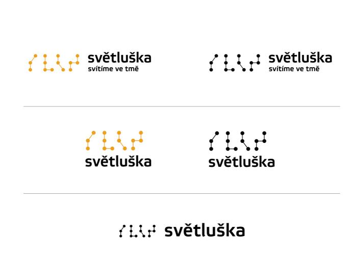 Nová vizuální identita Světlušky, zdroj: Nadační fond ČRo