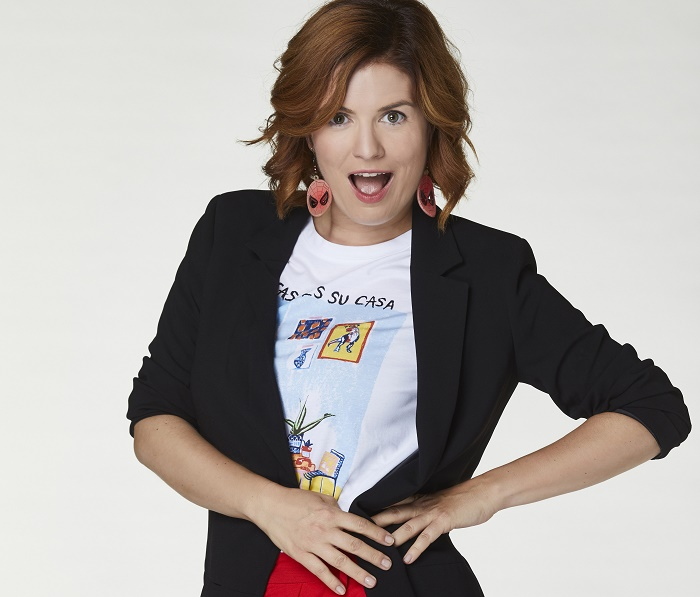 První známou účinkující šesté řady show Tvoje tvář má známý hlas je Zuzana Norisová, zdroj: TV Nova.