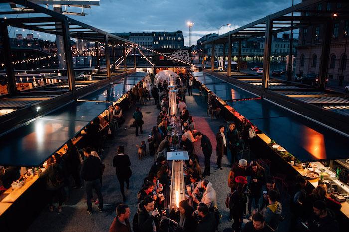 Gastropodniků nabídne Manifesto Smíchov méně než na Florenci, celkem osm, foto: Alexandra Siebenthal.