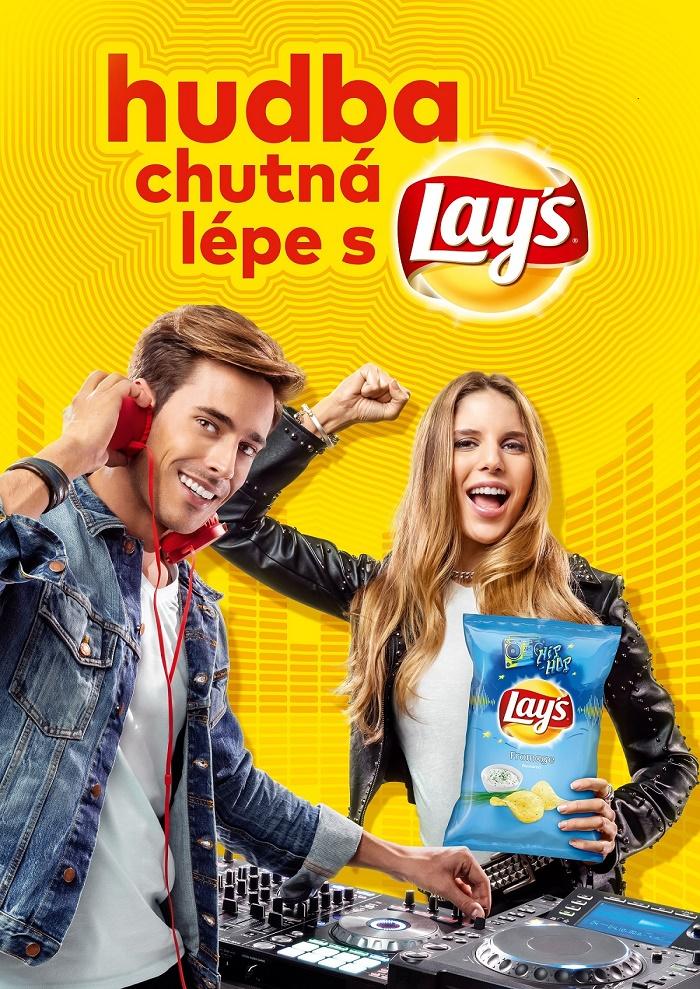 Klíčový vizuál letní hudební kampaně Lay's, zdroj: PepsiCo
