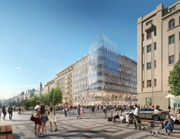 První obchod Primarku na českém trhu se bude nacházet v nové budově The Flow Building, zdroj: Primark.