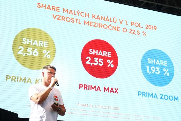 Podobu vysílání hlavní stanice Prima představil generální ředitel Marek Singer, foto: FTV Prima
