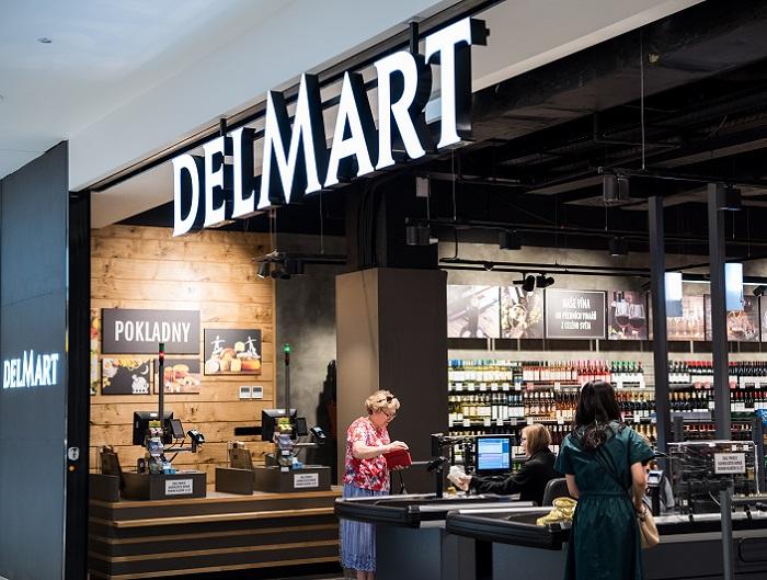 Součástí nového Delmartu na Pankráci bude i pekárna, zdroj: Delmart.
