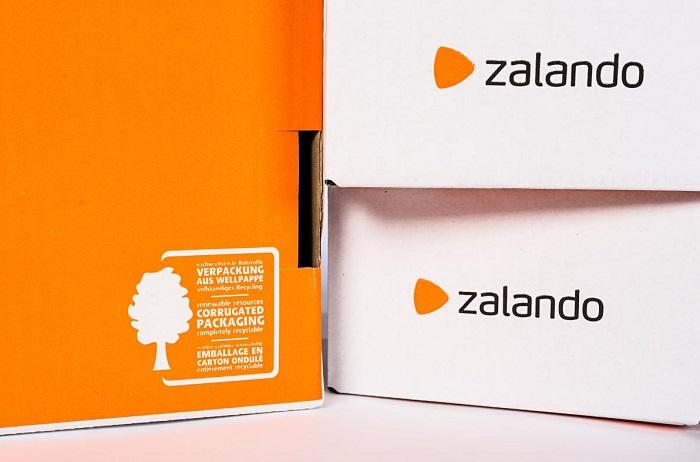Zalando využívá obaly z recyklovaných materiálů, opětovně použitelné chce testovat. Zdroj: Zalando