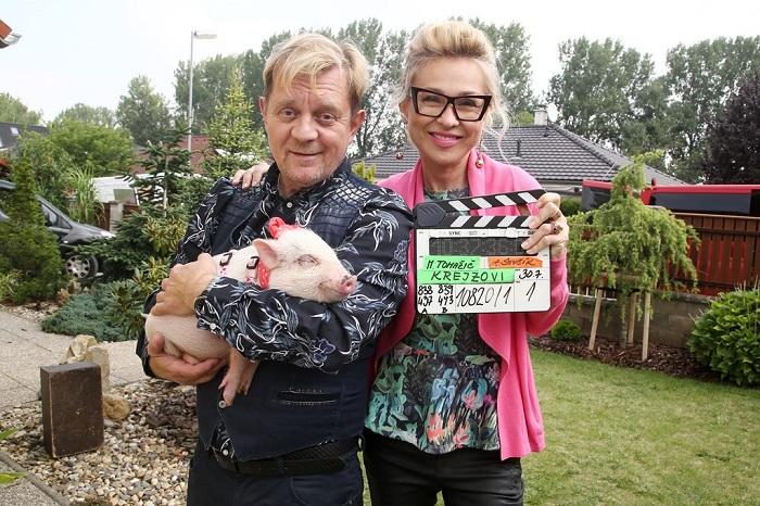 Poslední natáčení seriálu Krejzovi, foto: FTV Prima