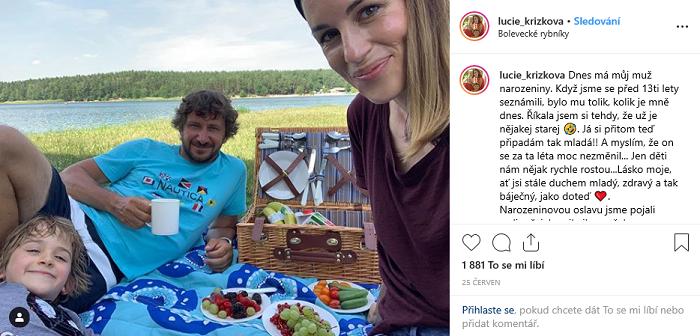 Moderátorka a modelka Lucie Křížková spolupracuje s Kauflandem dva roky. Zdroj: Instagram Lucie Křížkové