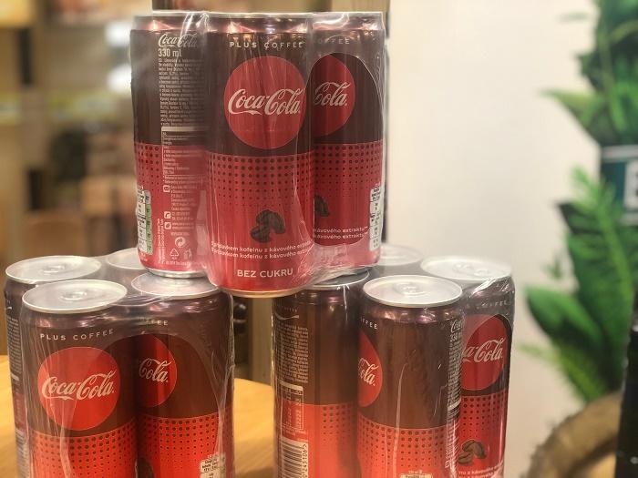 Vystavení Coca-Coly Plus Coffee v Makru, foto: MediaGuru.cz