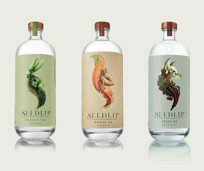 Značku nealko destilátu Seedlip nedávno ovládla společnost Diageo, zdroj: FB Seedlip.