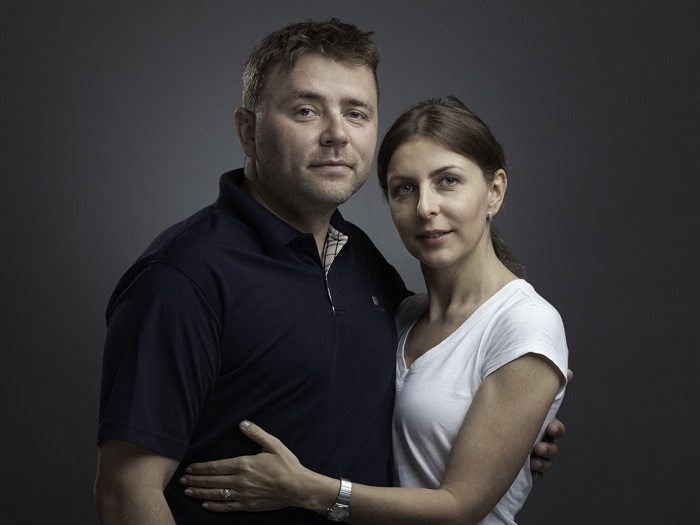 Petr Patočka s manželkou Andreou, zdroj: Kyosun - Matcha tea