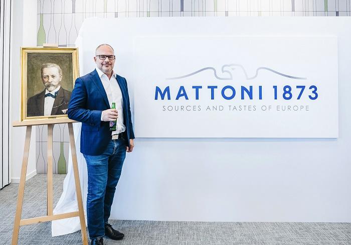 Alessandro Pasquale, generální ředitel celé skupiny, nově pojmenované Mattoni 1873, zdroj: Mattoni 1873