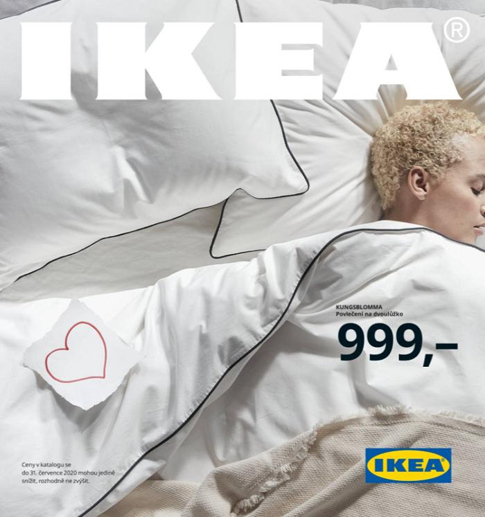 České verze katalogu vychází v nákladu 350 tisíc výtisků, ještě loni jich bylo přes 1,5 milionu, zdroj: web Ikea ČR.
