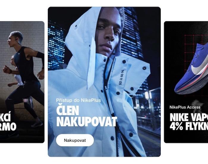 Nike uvádí nákupní aplikaci Nike App, zdroj: Nike.