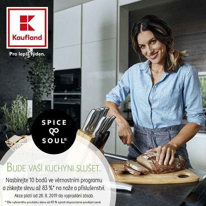 Tváří kampaně nové značky Spice & Soul je moderátorka Lucie Křížková, zdroj: Kaufland.