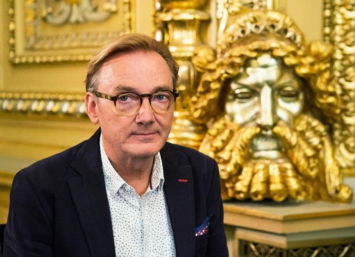 Ondřej Havelka v pořadu Národní divadlo: Mýtus a realita, foto: ČT