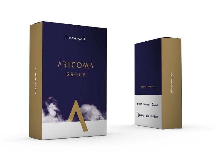 Logo nové značky Aricoma Group, zdroj: Aetna
