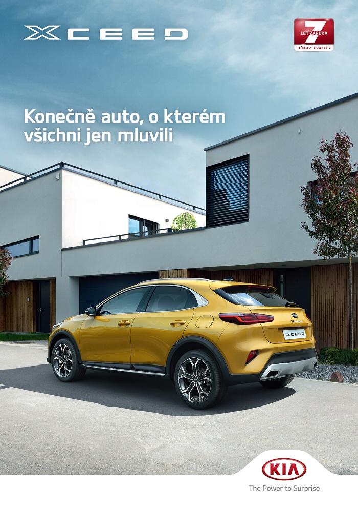 Klíčový vizuál k podzimní kampani na model XCeed, zdroj: Kia Motors Czech