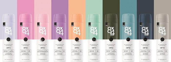 Nová podoba značky deodorantů 8x4, zdroj: Beiersdorf