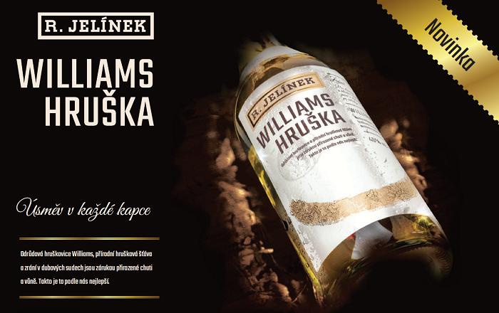 Rudolf Jelínek uvádí nový likér Williams Hruška, zdroj: Rudolf Jelínek.