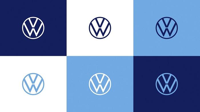 K novému logu byl přidán i nový odstín modré, který má umožnit další barevné varianty, zdroj: Volkswagen.