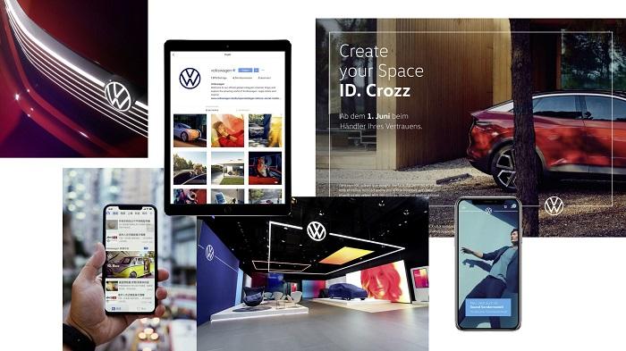 Nová vizuální identita je koncipována pro digitální využití, zdroj: Volkswagen.