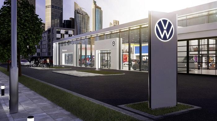 U vozidel, výrobních závodů a prodejců bude nové logo osvětlené, zdroj: Volkswagen.