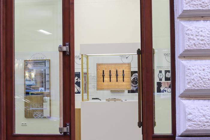 Hodinky Prim mají novou značkovou prodejnu v pražské ulici Nekázanka, zdroj: Elton hodinářská.