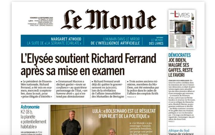 Zdroj: Le Monde