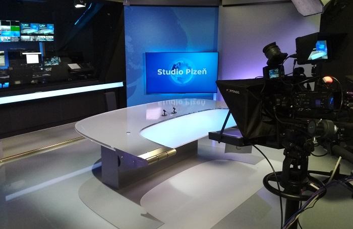 Studio ČT v Plzni, foto: Česká televize
