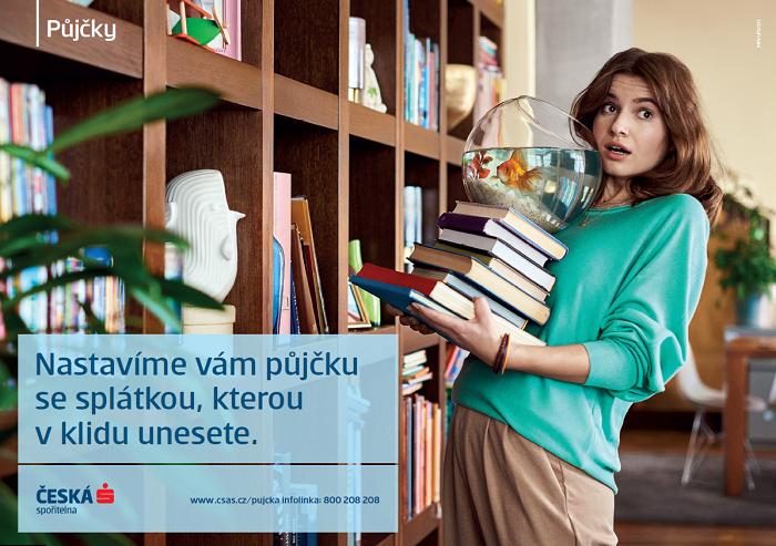 Česká spořitelna se na podzim v komunikaci zaměří na půjčky, zdroj: Česká spořitelna.