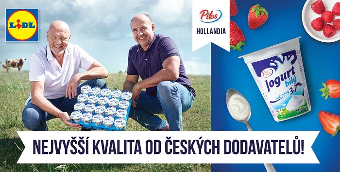 Jako prvního dodavatele Lidl představí firmu Hollandia. Zdroj: Lidl ČR