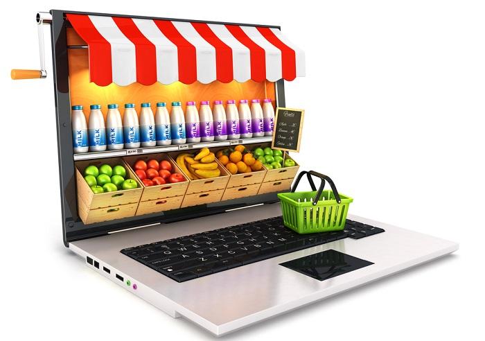 Aktuálně 36 % Čechů nakupuje potraviny online, 64 % naopak preferuje kamenné pobočky. Zdroj: Acomware