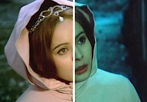 Srovnání původní a vyčištěné verze pohádky Tři oříšky pro Popelku.