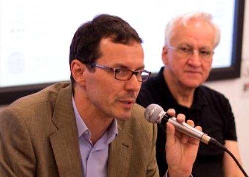 Tomáš Trampota a Milan Šmíd (oba FSV UK).