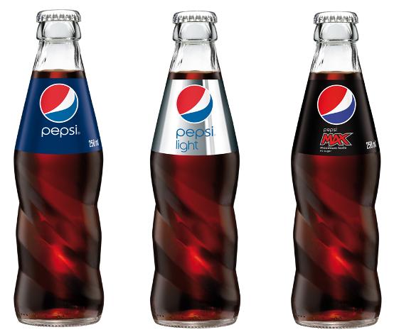 Nová lahev Pepsi