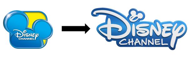 Změna loga Disney Channel